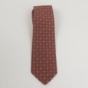 Brooks Brothers 346 Floral Silk Tie